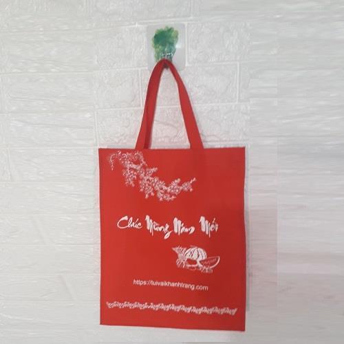Túi vải không dệt Chúc mừng năm mới có sẵn tại xưởng mẫu 3